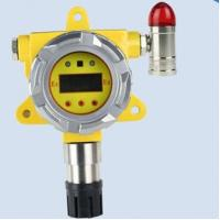 Quality Auto industrial carbon monoxide gas detector with alarm strobe lights and RS485 signal out for sale