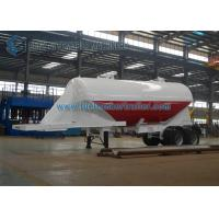 Wholesale Customized 24m3 Tandem Axle Utility Trailer Cement Powder Trailer For Cement from china suppliers