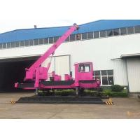 China 80-120T Hydraulic Pile Driving Machine For Precast Concrete Pile Foundation on sale