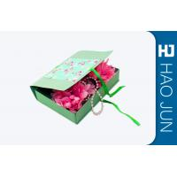 Wholesale Flat Pack Cardboard Gift Boxes Packaging With Foldble Lids , Square Shape from china suppliers