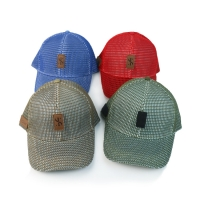 Wholesale Full Mesh 6 Panel Quick Dry 58cm Fitted Baseball Cap from china suppliers