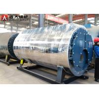 China Industrial Gas Steam Boiler Fire Tube Boiler Automatic Working 5 Ton Capacity for sale