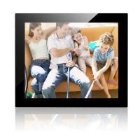 Wholesale 17 Inch Mirror Cover Desktop Digital Photo Frame With 1024*768 Resolution from china suppliers
