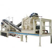Wholesale stock mobile impact crushing plant for mining from china suppliers