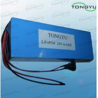 Wholesale Light LiFePO4 Rechargeable Battery 24V 6.4Ah With CE / UL Rosh For Electric Scooters from china suppliers