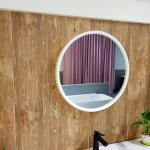 China Elegant Look LED Bathroom Mirror   Matt / Glossy Finish 60mm Thickness for sale