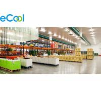 Wholesale Walk In Food Storage Warehouse , Freon R22 / R404a Cold Storage Area from china suppliers