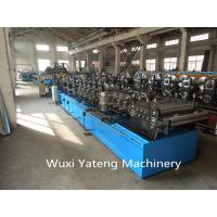 Best 15 KW CZ Purlin Roll Forming Equipment For Big Warehouse Hydraulic Punching And Cutting wholesale