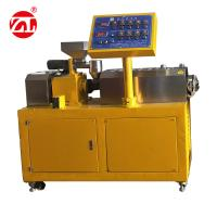 Wholesale Lab Rubber Testing Machine Twin Screw Rubber Extruding Machine For PVC PC PA from china suppliers