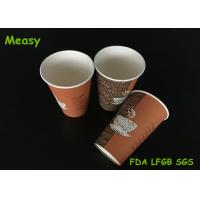 Wholesale 16oz Custom Single Wall Paper Cups , Coffee Take Away Cup 500ml from china suppliers