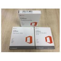Wholesale Business PKC OEM Microsoft Office 2016 Home , Retail Version Microsoft COA Sticker from china suppliers