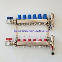 China 6 Branch Floor Heating Manifold for Underfloor Heating System Products for sale