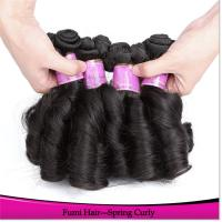 Buy cheap Peruvian Virgin Hair Machine Made Weft Tangle and Shedding Free Remy Human from wholesalers