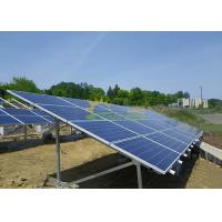 Wholesale Easily Installed Ground Mount Solar Racking Systems , Ballasted Ground Mount from china suppliers