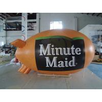 Wholesale 0.18mm PVC Helium Advertising Blimps Bespoke UV Productive Printing from china suppliers
