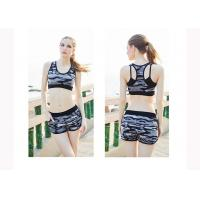Wholesale Dance Hollowed Back Womens Exercise Shorts , Women'S Active Shorts Nylon Material from china suppliers