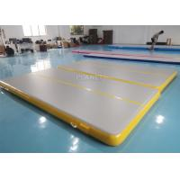 Wholesale Double Triple Stitching 4x2x0.2m Inflatable Air Tumble Track from china suppliers