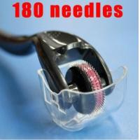 Wholesale 180 needle eye derma roller, dermaroller 0.5 mm 0.25mm 2.0mm for remove wrinkles, scars from china suppliers
