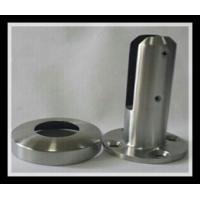 Best Stainless steel 316/316L round base plate glass spigot with polished or satin finish for glass pool wholesale
