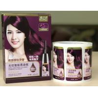 Packaging Adhesive Metallic Product Labels For Shampoo Bottle Label Printing for sale