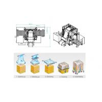 Auto Pallet Stretch Film Wrapping Machine With Hydraulic Stretching System