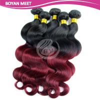 Wholesale Factory Price Cheap Brazilian Body Wave Hair,100% Virgin Ombre Color Hair Extensions from china suppliers