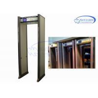 Wholesale Entertainment Places Archway Metal Detector Doors  Anti Interference Without Blind from china suppliers