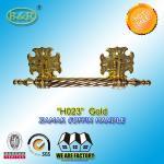 Best Zinc Casket Metal Handles ,metal Funeral accessory 30 X 9.5cm gold color zamak coffin bar wholesale