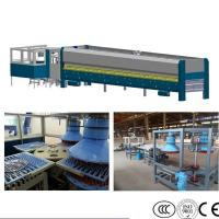 Wholesale Pot Lid Tempered Glass Machine , Cookware Top Glass Processing Machinery from china suppliers