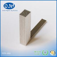 N38 Sintered Neodymium Cylinder Magnets With Nickel Coating For Car Speakers for sale