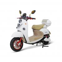 China AOWA Two Wheels White Electric Motorcycles With Self - Checking Function on sale