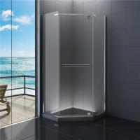 Best 900x900 Diamond  Bathroom Shower Enclosure Clear Glass 1900 Height wholesale