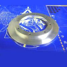 CNC machined aluminum wheel cap for sale