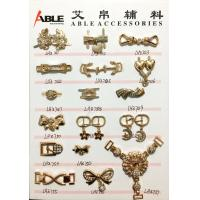 Wholesale Popular Nickel Sparkling Zinc Alloy Buckle , Small Shoe Buckles For Woman from china suppliers