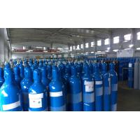 Steel High Pressure 10L / 16L Industrial Compresses Gas Cylinder , Height 495-1000MM