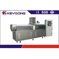 Wholesale PLC Control Puff Snack Extruder Machine , Pet Feed Food Extrusion Equipment from china suppliers