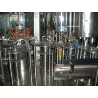 Concentrated Juice Hot Filling Machine SUS304 Material , 6000BPH Pet Bottle 3-in-1 Filling Machine