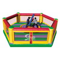 Wholesale Commercial grade kids N adults interactive inflatable jousting set with sticks from China inflatable wrestling game fact from china suppliers