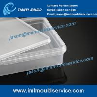 Wholesale take away rectangular food containers mould, plastic disposable containers with lids molds from china suppliers