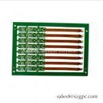 China OSP copper thickness 1OZ Double Side flex-rigid PCB printed circuit Board 2 Layer Squre Board For Temperature Controller for sale