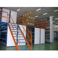Buy cheap Powder Coated Multi Tier Mezzanine Rack Industrial Shelving For Warehouse from wholesalers