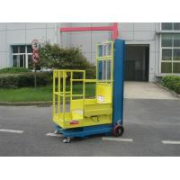 Wholesale 4.3m Semi - Electric Aerial Order Picker For Supermarket Stock Picking from china suppliers