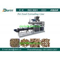 Automatic Stainless Steel Pet Cat / Fish Feed Pellet Production Line