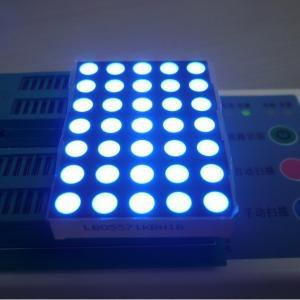 China Ultra Blue 5x7 Dot Matrix Display Elevator Floor Indicator High Brightness on sale