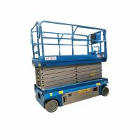 Wholesale One Man Aerial Work Portable Scissor Lift , Scissor Hydraulic Lift High Safety from china suppliers