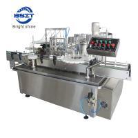 10ml Spray Bottle Filling and capping Machine for meet GMP standards