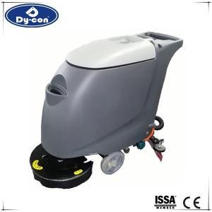 18 Inch Walk Behind Floor Scrubber Machine For Hospital / Restaurant  Durability