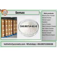 Wholesale Pure Pharma Raw Powder Semax / ACTH 4-7 For Nootropic CAS 80714-61-0 from china suppliers
