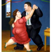 Wholesale 2-7 days Botero oil painting from china suppliers