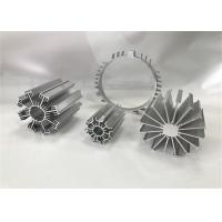 Wholesale Silver Standard Aluminium Heat Sink Extrusions / Aluminium Extrusion Profiles from china suppliers